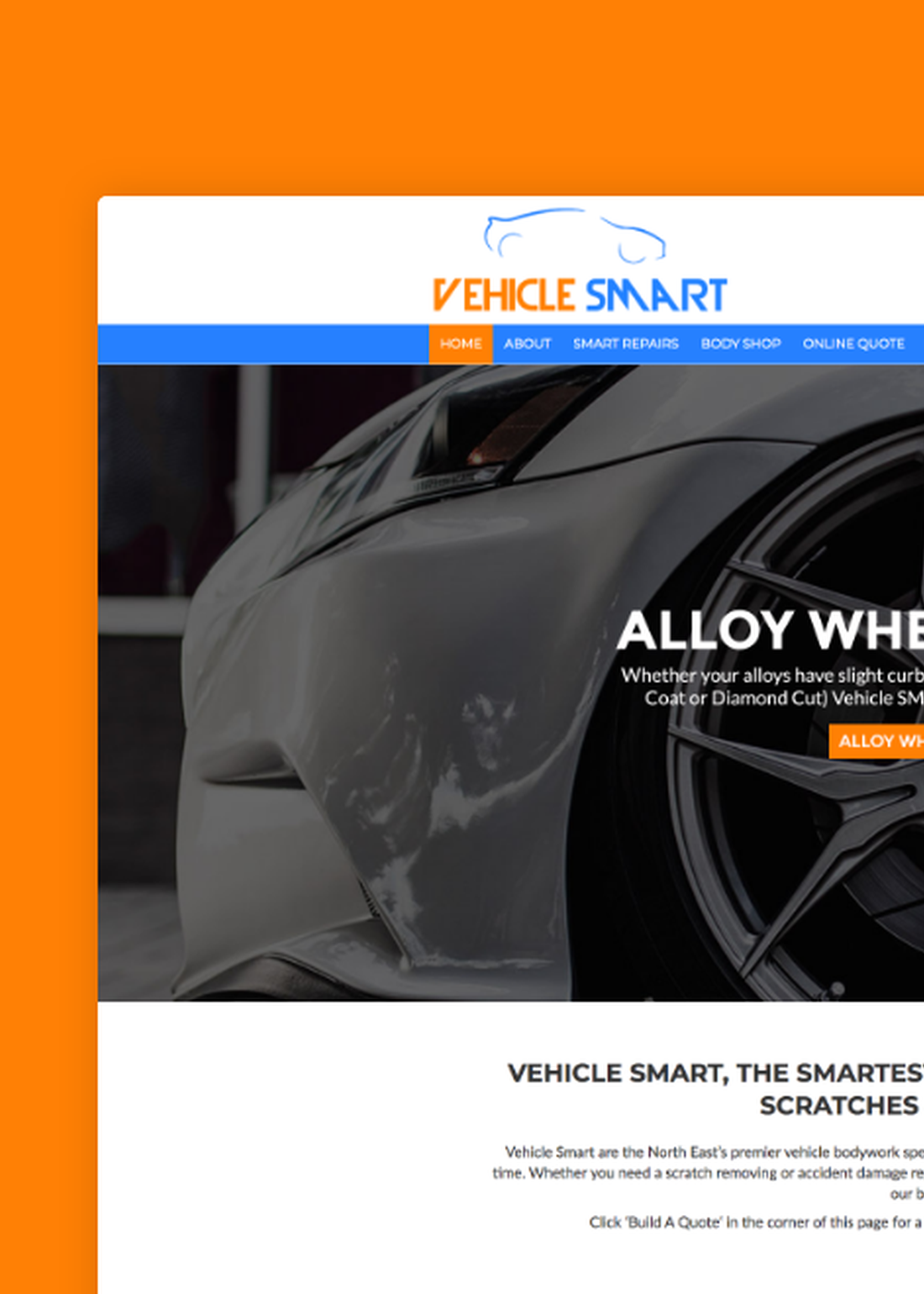 Premium Performance For Vehicle Bodywork Specialists - Vehicle SMART